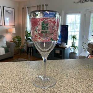 Simply Southern Tervis Wine Glass